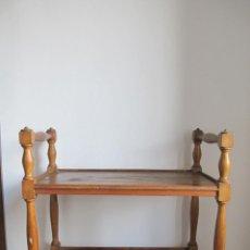Antigüedades: MESITA CAMARERA. Lote 41143900