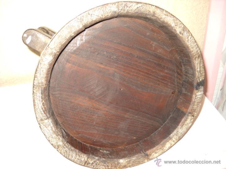 Antigüedades: Medida para el grano en madera y cobre - Foto 5 - 41144433