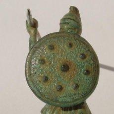 Antigüedades: LEGIONARIO ROMANO DE BRONCE. Lote 56547920