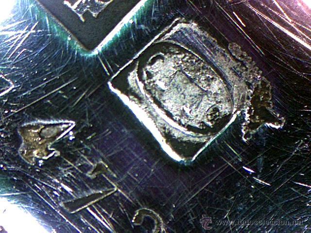 Antigüedades: CHRISTOFLE - PARIS - BELLO CENTRO EN FORMA DE CESTA - SELLADO Y NUMERADO - S. XIX - Foto 11 - 41165728