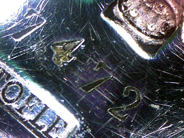 Antigüedades: CHRISTOFLE - PARIS - BELLO CENTRO EN FORMA DE CESTA - SELLADO Y NUMERADO - S. XIX - Foto 14 - 41165728