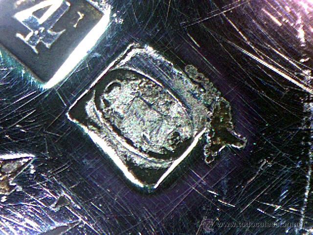 Antigüedades: CHRISTOFLE - PARIS - BELLO CENTRO EN FORMA DE CESTA - SELLADO Y NUMERADO - S. XIX - Foto 16 - 41165728