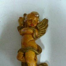 Antigüedades: FIGURA ANGEL EN ESCAYOLA. Lote 41198049