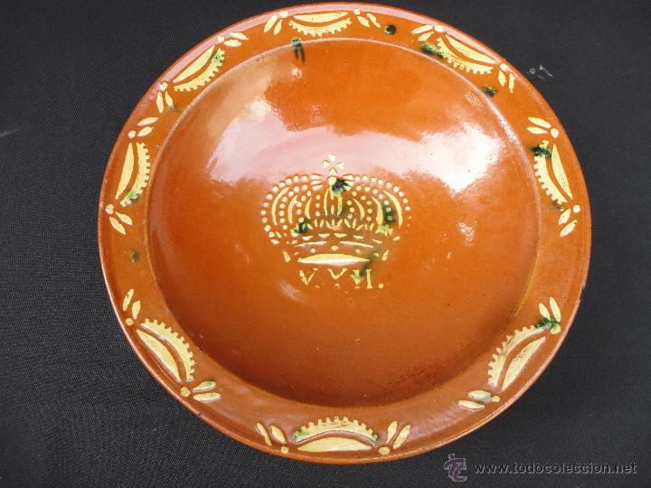 ALFARERÍA CATALANA: FUENTE LA BISBAL S. XIX (Antigüedades - Porcelanas y Cerámicas - La Bisbal)