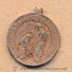 Antigüedades: MON 929 MEDALLA RELIGIOSA ANTIGUA BENDICIÓN DEL SERAFICO SAN FRANCISCO DE ASÍS MEDICA TIBI DOMINU. Lote 41215196