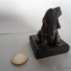 Antiguidades: BONITA FIGURA DE PERRO COCKER. Lote 41235114