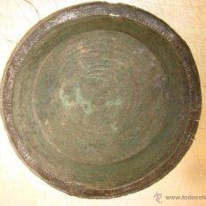 Antigüedades: PLATO DE COBRE O SIMILAR AUTENTICO EN MUY BUEN ESTADO CON SU PATINA ORIGINAL- ROMANA O ARABE. Lote 41256888