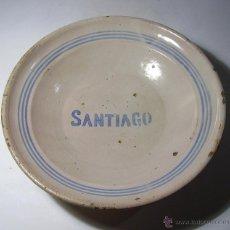 Antigüedades: PLATO CERAMICA MUEL XIX - XX. Lote 41262638