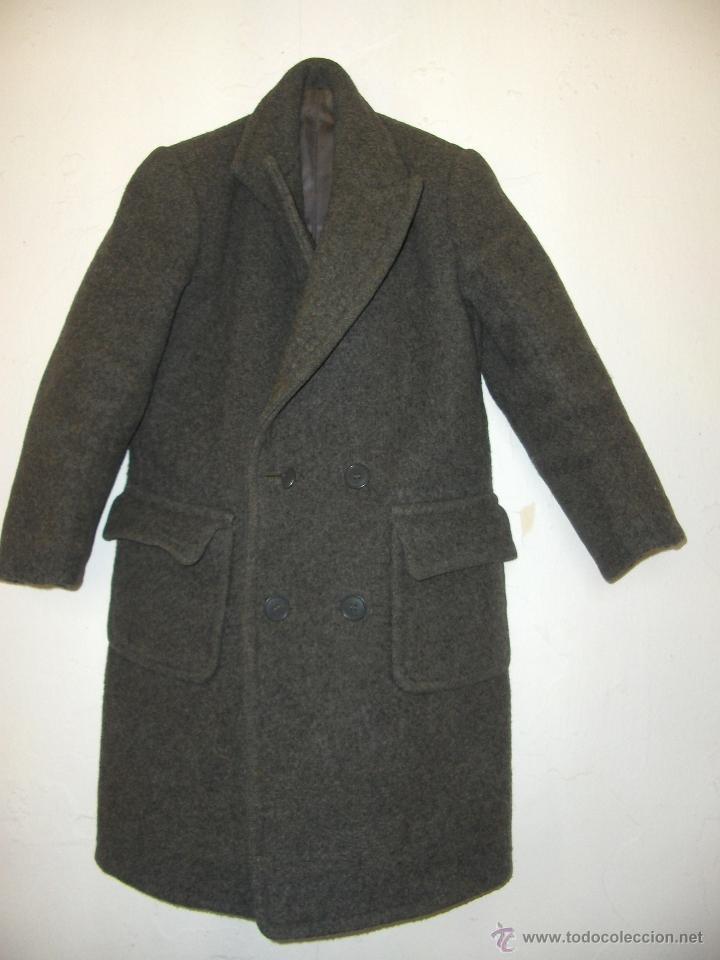 chaqueton abrigo de niño antiguo, usado segunda mano