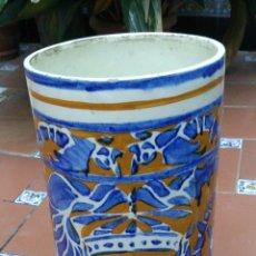 Antigüedades: PARAGUERO DE CERAMICA DE MANISES - Nº 3. Lote 41274710