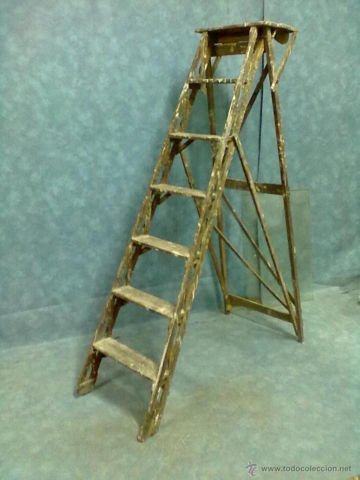 Escalera de biblioteca escalera de pintor comprar for Escaleras pintor precios