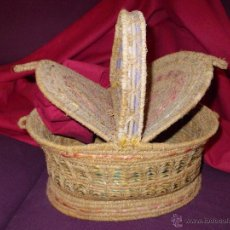 Antigüedades: COSTURERO HECHO A MANO S XIX. Lote 41283533