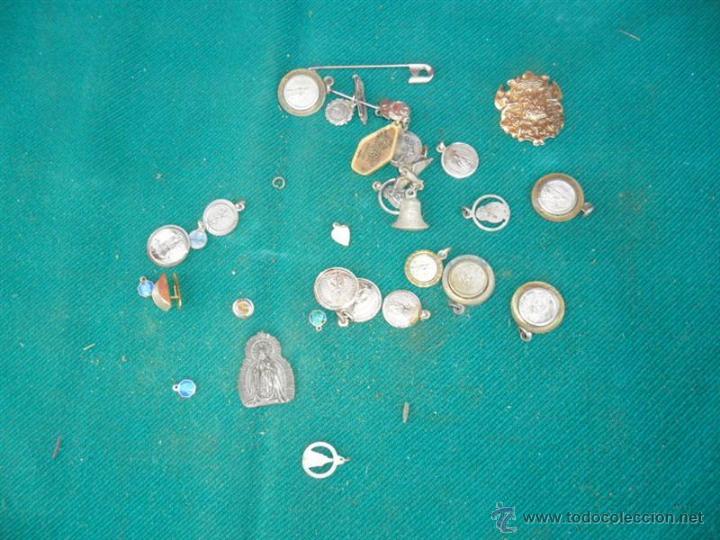 LOTE DE MEDALLAS RELIGIOSAS (Antigüedades - Religiosas - Medallas Antiguas)