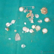Antigüedades: LOTE DE MEDALLAS RELIGIOSAS. Lote 41300599
