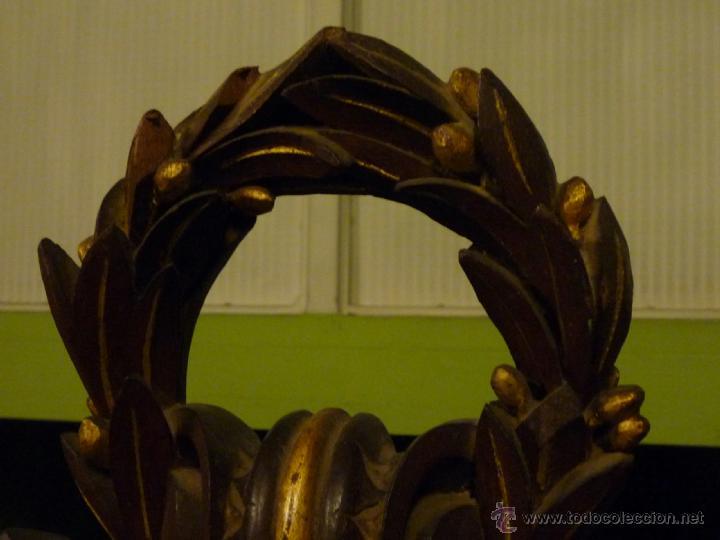 Antigüedades: Cama S. XIX, cabecero, piecero y largueros. - Foto 10 - 41302922