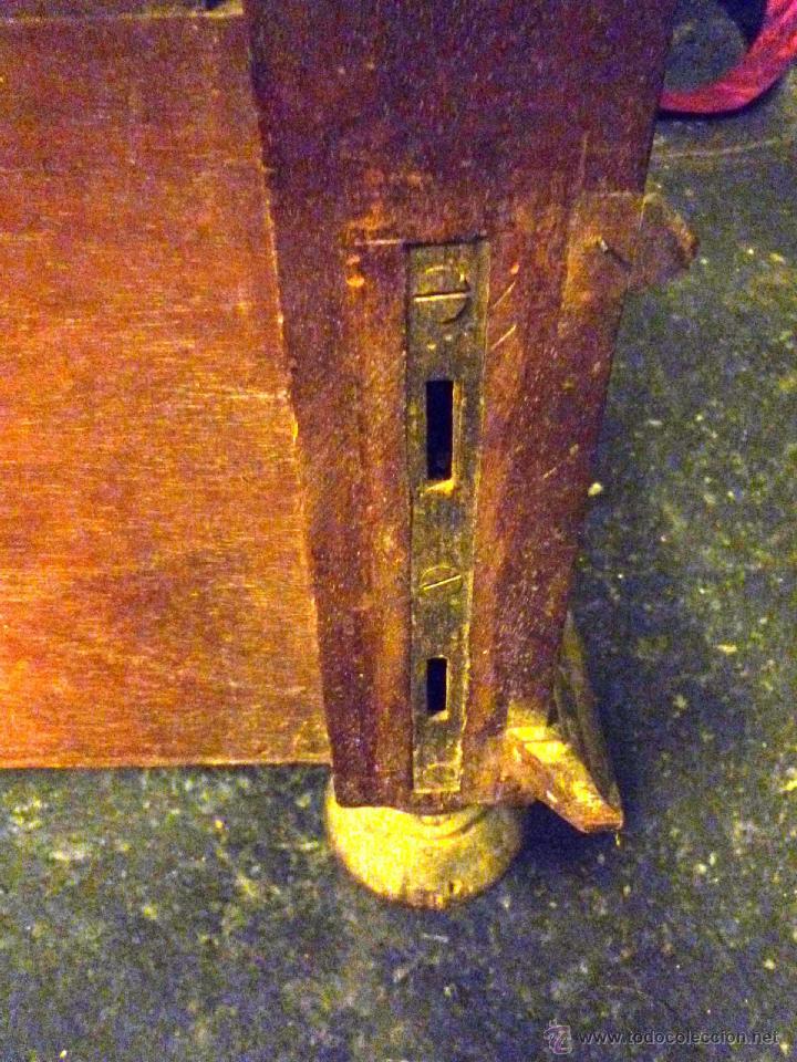 Antigüedades: Cama S. XIX, cabecero, piecero y largueros. - Foto 21 - 41302922
