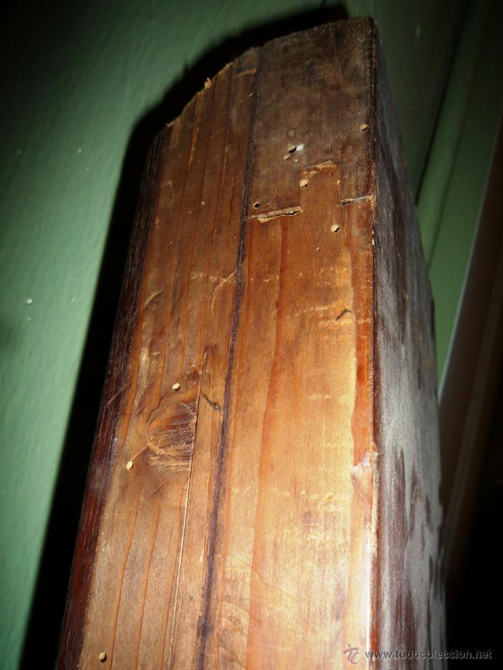 Antigüedades: Cama S. XIX, cabecero, piecero y largueros. - Foto 22 - 41302922