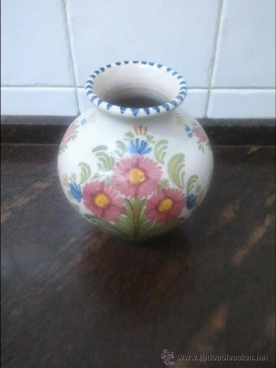 JARRON CERAMICA DE TALAVERA Nº 44 (Antigüedades - Porcelanas y Cerámicas - Talavera)