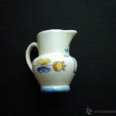 Antigüedades: JARRA DE CERÁMICA DE ALCORA. 8,5 CM. . Lote 41327573