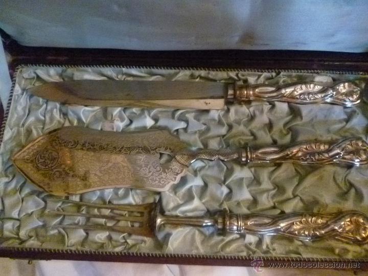 Antigüedades: CUBIERTOS DE SERVICIO - Foto 4 - 41335809