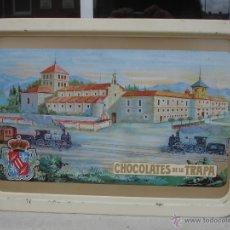 Antigüedades: CHOCOLATES DE LA TRAPA. Lote 41340771