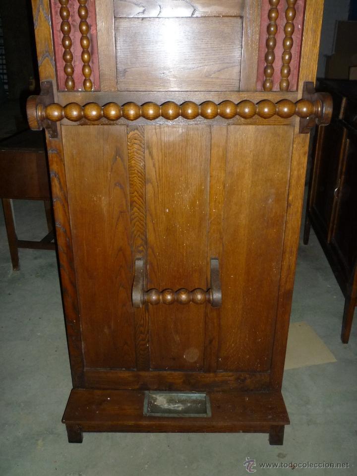 Antigüedades: paraguero antiguo fabricado en Vitoria - Foto 5 - 41345821