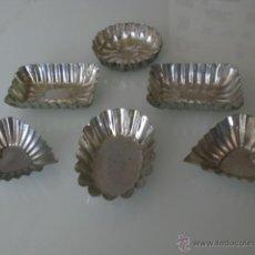 Antigüedades: MOLDES DE REPOSTERIA- METAL-ANTIGUOS. Lote 41370621