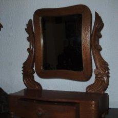 Antigüedades: BONITO ESPEJO DE TOCADOR. Lote 41386831