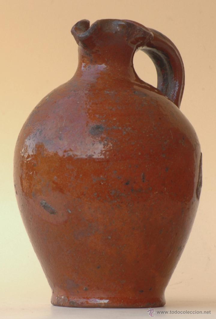 C052 ACEITERA PROBABLEMENTE OBRADA EN VILAFELICHE (Antigüedades - Porcelanas y Cerámicas - Teruel)