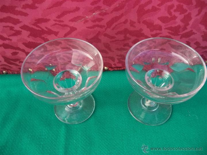 Antigüedades: 2 copas de postre - Foto 2 - 41398716