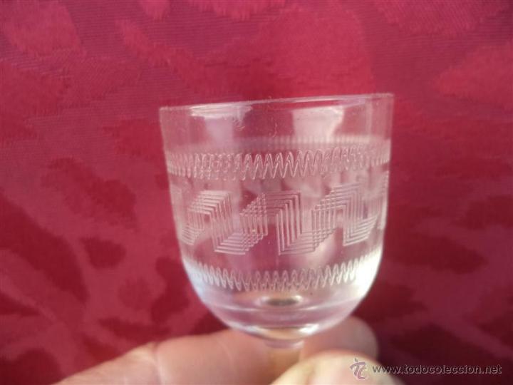 Antigüedades: copa pequeña labrada - Foto 2 - 41398792