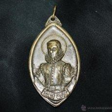 Antigüedades: GRAN MEDALLON DE SAN LUIS DE GONZAGA. Lote 41410036