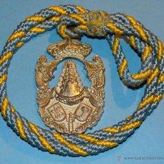 Antigüedades: MEDALLA MEDALLÓN RELIGIOSO. HERMANDAD VIRGEN DEL ROCÍO DE CHUCENA, HUELVA. Lote 41410293