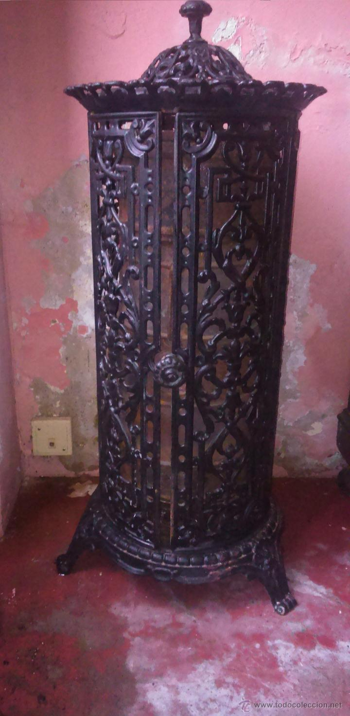 Estufa de hierro y le a antigua comprar utensilios del for Utensilios de hogar