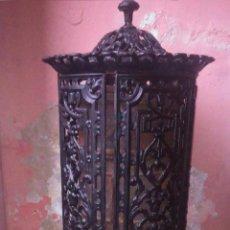 Antigüedades: ESTUFA DE HIERRO Y LEÑA ANTIGUA. Lote 41415372