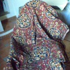 Antigüedades: PAR CORTINAS LANA ATERCIOPELADA AÑOS 20-30 DEL PASADO SIGLO XX. Lote 41437254
