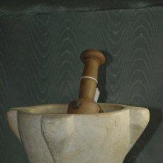 Antigüedades: MORTERO MÁRMOL. C 1900. ESPAÑA. Lote 41442028