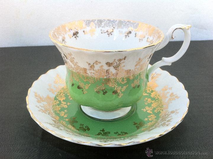 Antigua taza de te en porcelana royal albert comprar - Porcelana inglesa antigua ...