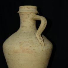 Antigüedades: ANTIGUO Y DE GRAN TAMAÑO CANTARO DE MORÓN SEVILLA. Lote 41446460
