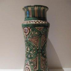 Antigüedades: JARRÓN BOTE DE FARMACIA SIN TAPA SELLO PUNTER 30 CM. ALTO. Lote 41447086
