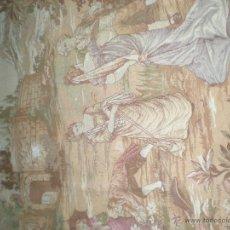 Antiques - TAPIZ ANTIGUO FRANCÉS - 41447350