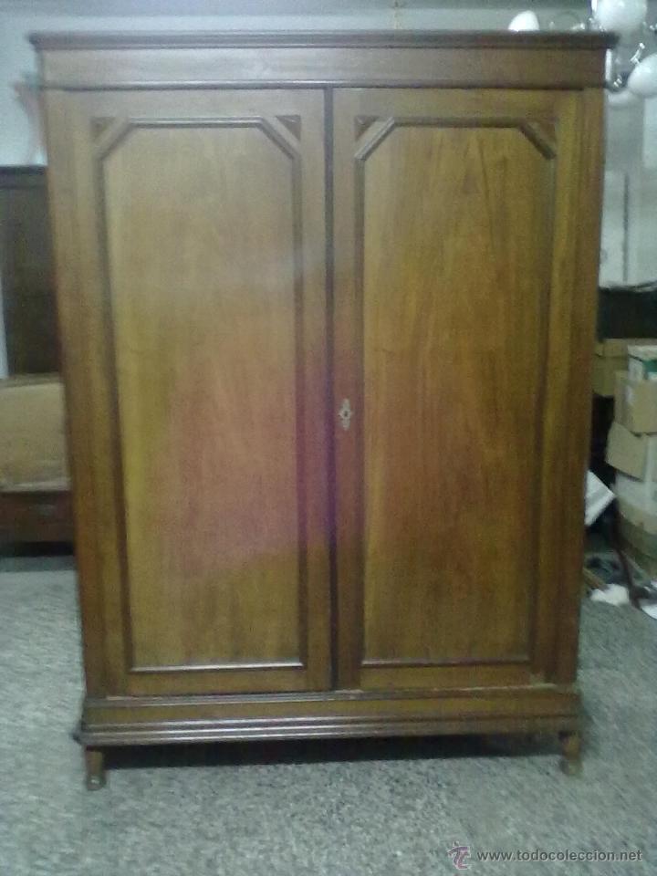 Armario caoba para restaurar comprar armarios antiguos for Antiguedades para restaurar