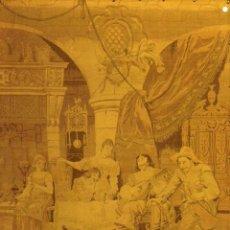 Antigüedades: TAPIZ ESCENA FLAMENCA SIGLO XIX. Lote 41465573