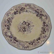 Antigüedades: RARO PLATO DE SAN JUAN DE AZNALFARACHE. S. XIX. Lote 41452515