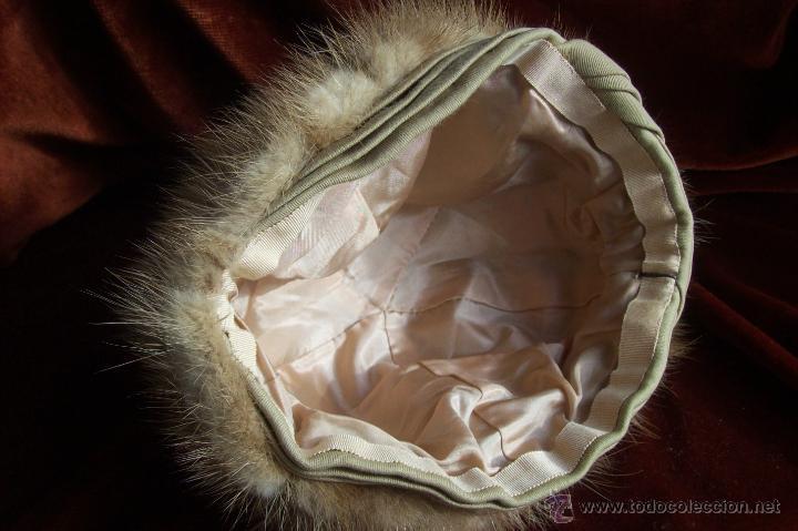 Antigüedades: Gorro vison dorado - Foto 8 - 41470944
