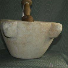 Antigüedades: MORTERO MÁRMOL. C 1900. ESPAÑA. Lote 41472705
