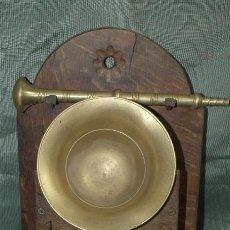Antigüedades: ALMIREZ BRONCE. ALMIRECERO ESPECIERO ROBLE. MONTAÑA PALENTINA. Lote 41473035