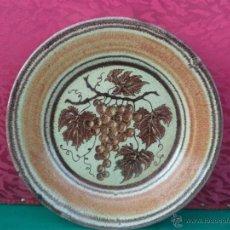 Antigüedades: PLATO GRANDE DE CERAMICA. Lote 41485375