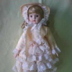 Muñecas Porcelana: MUÑECA PORCELANA ANTIGUA. Lote 41493947