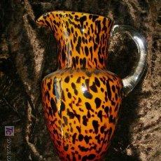 Antigüedades: JARRA DE CRISTAL ATRIGRADA ORIGEN FRANCIA.CIRCA 1895. Lote 26848671